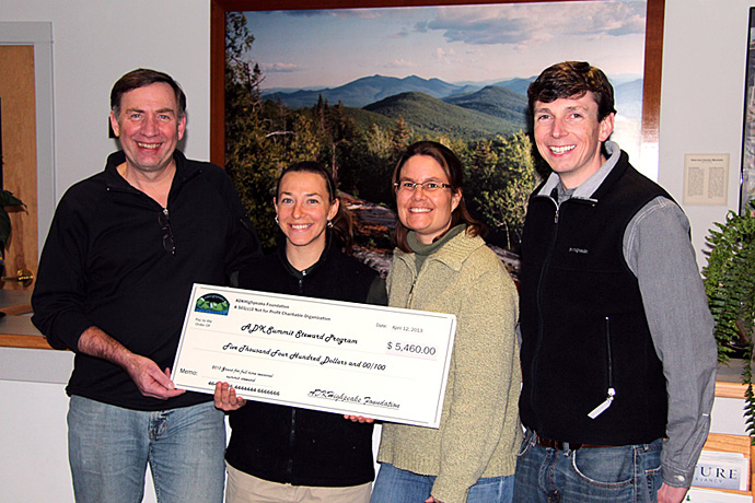 ADKhighpeaks Foundations supports Summit Steward Program